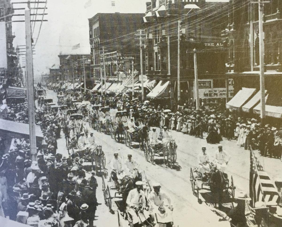 Gaslamp Quarter History Downtown San Diego California