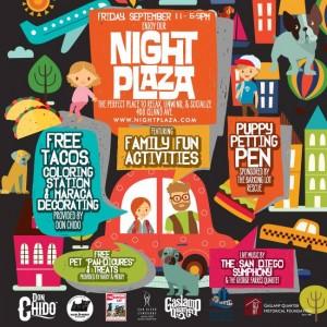 Gaslamp Quarter Night Plaza presented by RMD Group on Friday, September 11, 2015