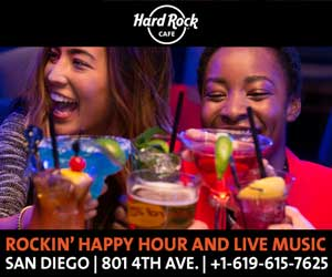 Hard-Rock-Cafe gaslamp san diego