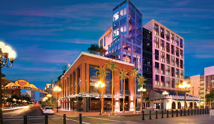 Hardrockhotel Gaslamp San Go Hotels Attractions Packages