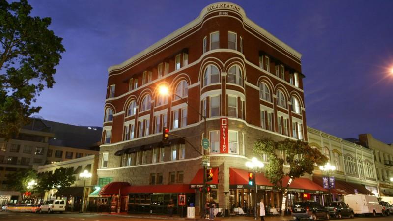 the keating hotel san diego gaslamp