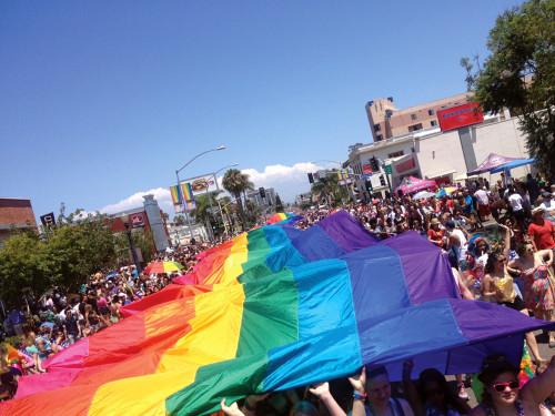 2013-Pride-Parade-Flag-e1400278301136 gaslamp san diego
