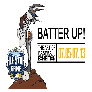 Batter-Up-Chuck-Jones-Gallery gaslamp san diego
