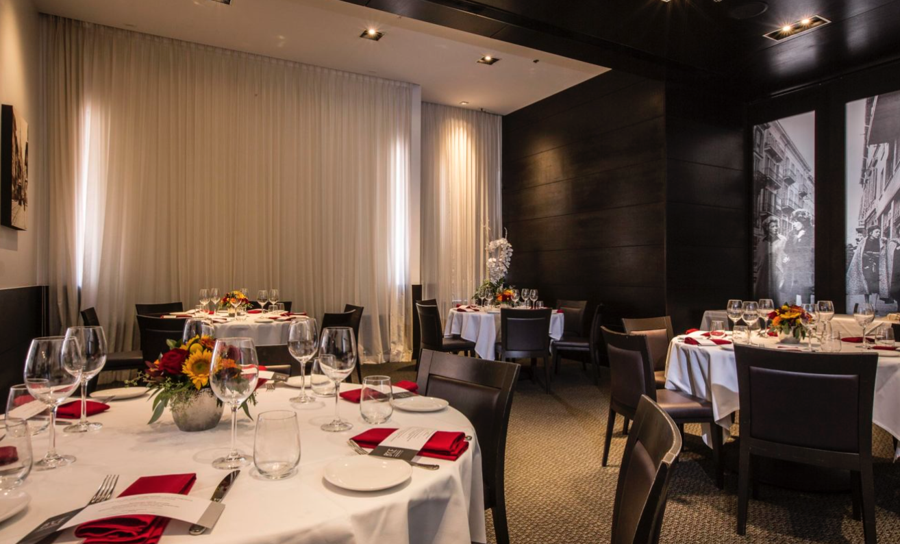 BiCE Ristorante Private Events & Group Dining | San Diego