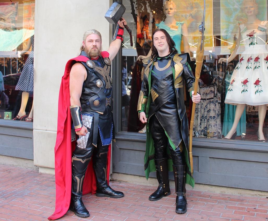Comic-Con   San Diego Gaslamp Quarter