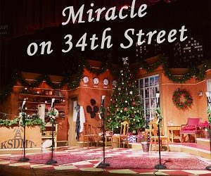 SDMT's – Miracle on 34th Street – A New Gaslamp Quarter Holiday Tradition!