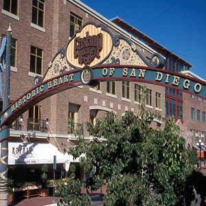 The Gaslamp Quarter Arch