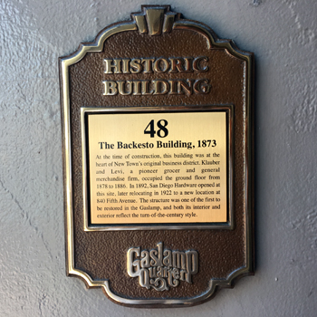 Backesto-Building-1 gaslamp san diego