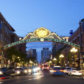 Gaslamp Quarter Archway