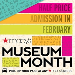 February is Macy's Museum Month!