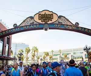 Cheer on San Diego Half Marathon Runners in the Gaslamp!
