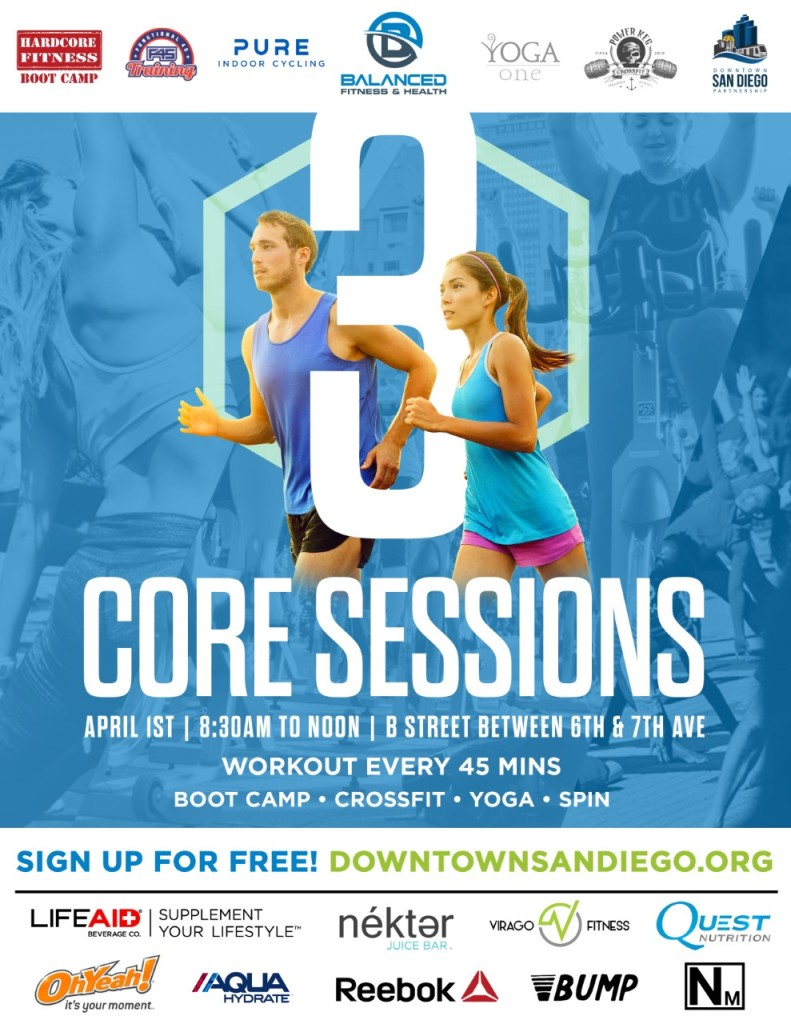 downtown san diego gaslamp quarter core sessions