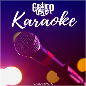 Karaoke in the Gaslamp Quarter
