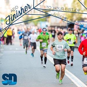 downtown san diego gaslamp quarter half marathon