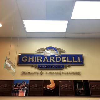 Downtown San Diego Gaslamp Quarter Ghirardelli Chocolate