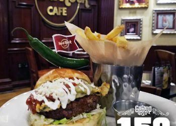 Take the World Burger Tour at the Hard Rock Cafe!
