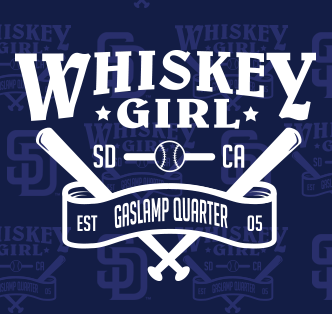 Downtown San Diego Gaslamp Quarter Whiskey Girl