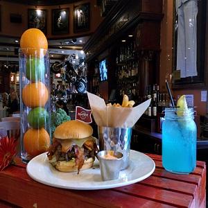 Jambalaya Burger