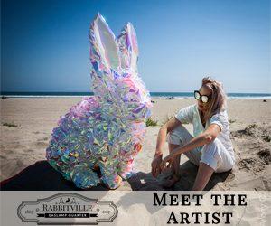 Meet the Artist of Rabbitville's next rabbit: Rebecca Nuvoletta