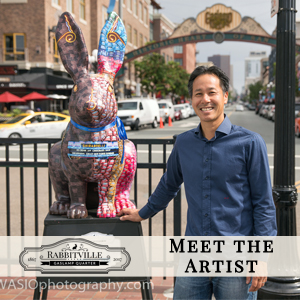 "Meet the next artist of ""Rabbitville"": Lee Sie"