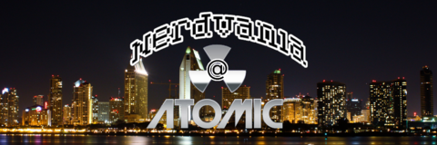 downtown san diego gaslamp quarter comic-con atomic nerdvania