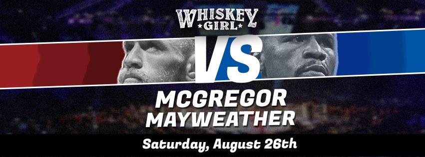 downtown san diego gaslamp quarter whiskey girl mayweater vs mcgregor