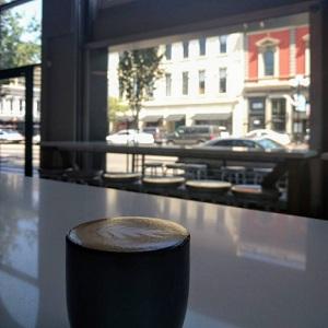 Cup of Dark Horse Roasters Coffee