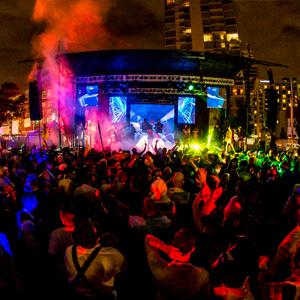 downtown san diego gaslamp quarter halloween monster bash