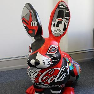 Rudy the Coca-Cola Rabbit