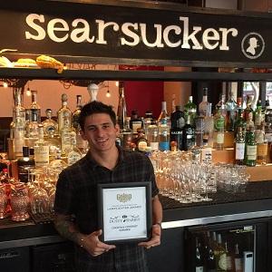Bartender Leo at Searsucker