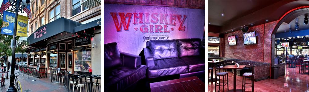 downtown san diego gaslamp quarter venue spaces whiskey girl