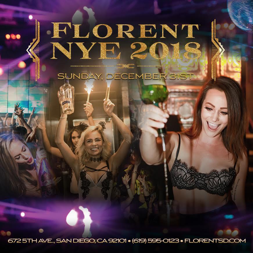 Florent-2018-NYE gaslamp san diego