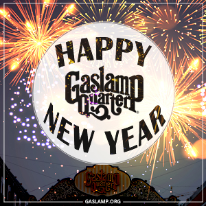 Ring in the New Year in the Gaslamp Quarter!