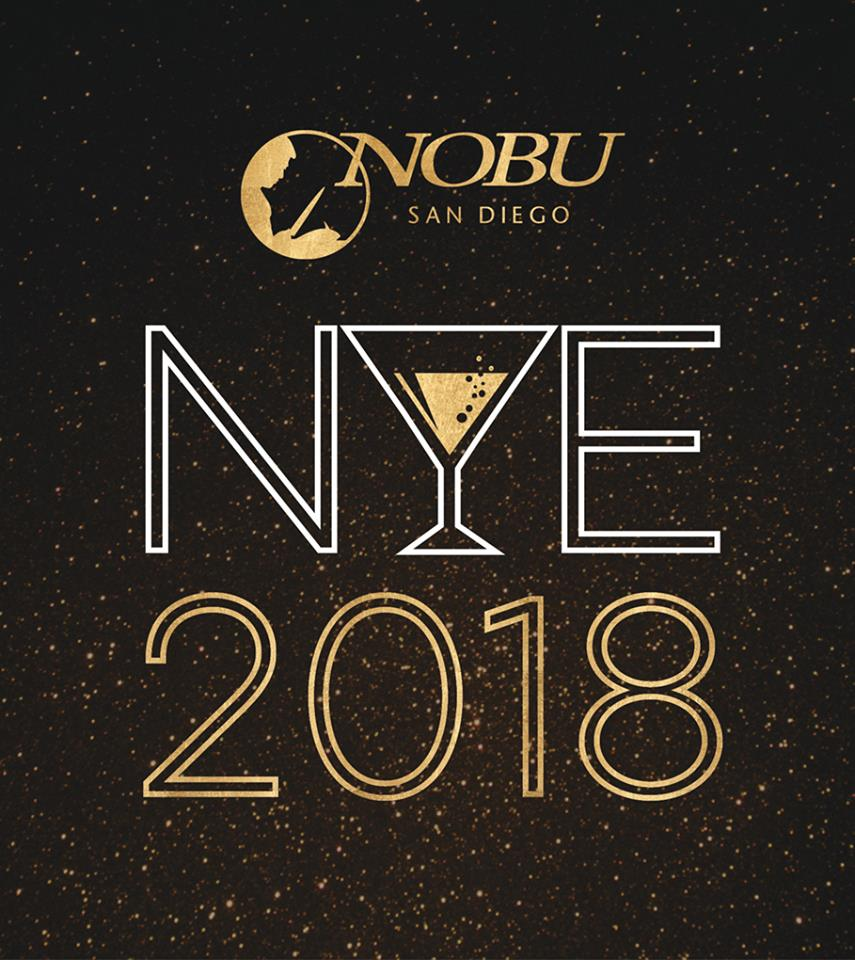 downtown san diego gaslamp quarter new year's nobu