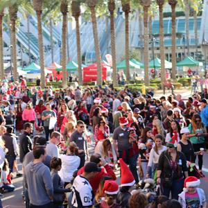 downtown san diego gaslamp quarter pet parade