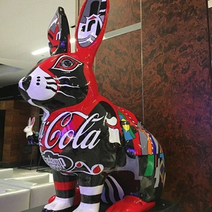 Rudy the Coca Cola Rabbit- Steven Van