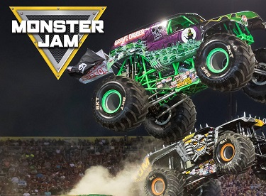 Monster Jam at Petco Park