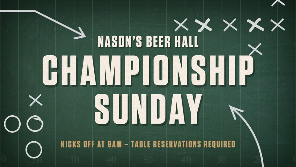 downtown san diego gaslamp quarter super bowl nason's beer hall at the pendry