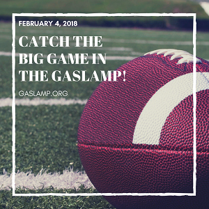 Catch the Big Game in the Gaslamp!