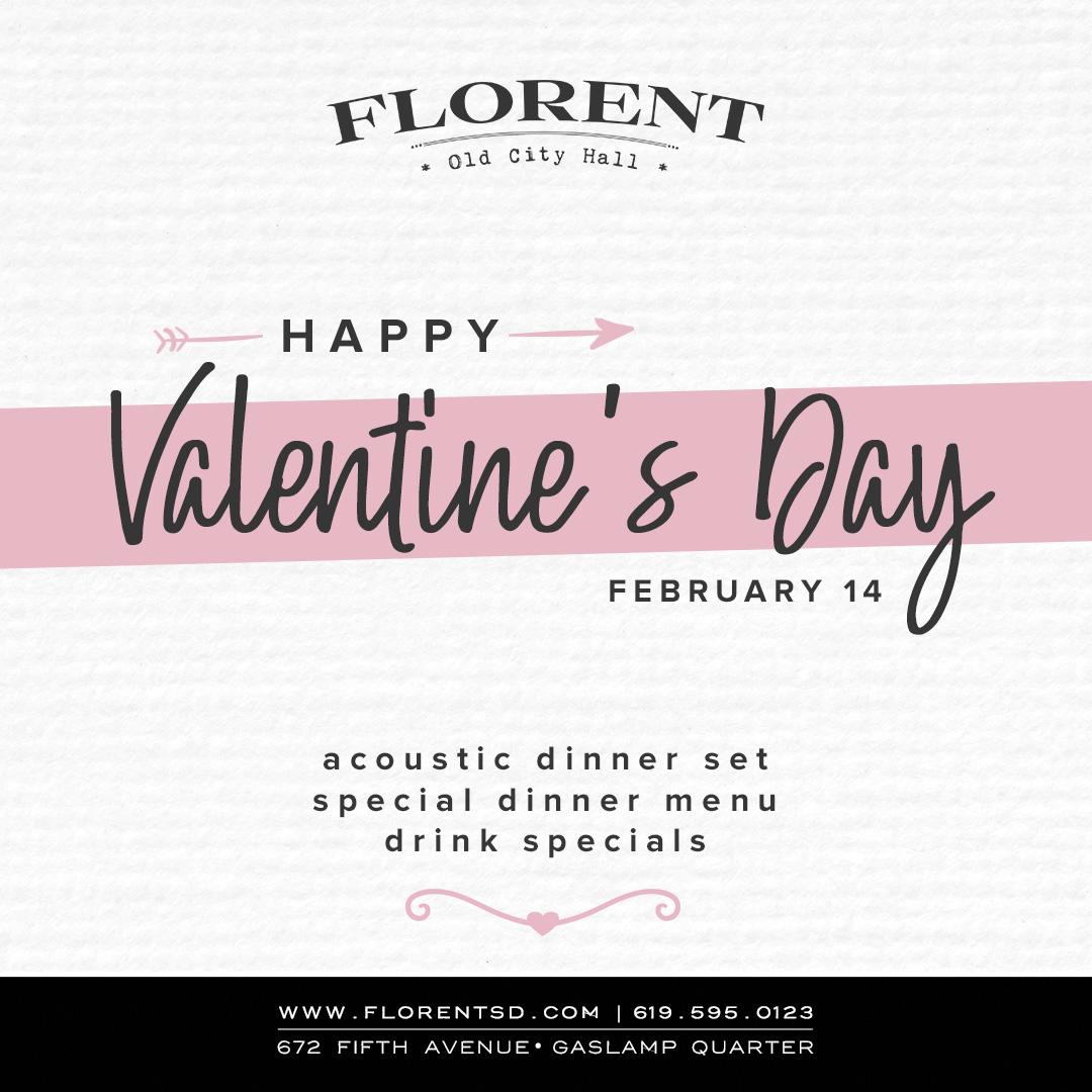 downtown san diego gaslamp quarter valentine's day florent restaurant and lounge