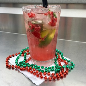 Mardi Gras Cocktail!