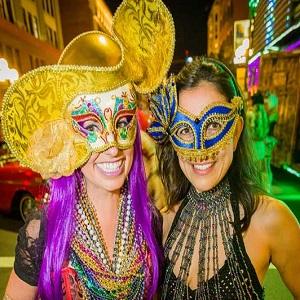Ladies-in-Mardi-Gras-Masks-300-x-300 gaslamp san diego