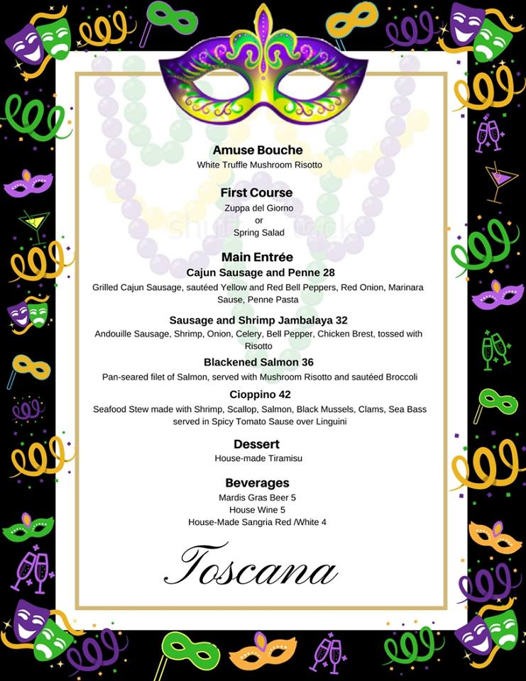Toscana-fat-tuesday-2018 gaslamp san diego