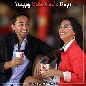 Celebrate Valentine's Day in the Gaslamp Quarter!
