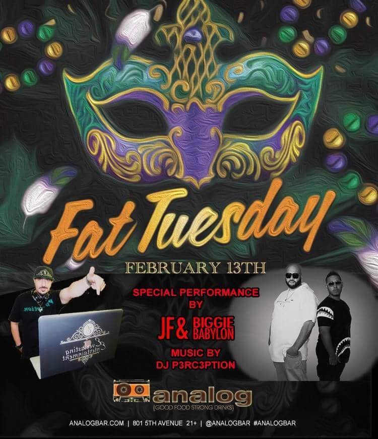 analog-fat-tuesday-2018 gaslamp san diego