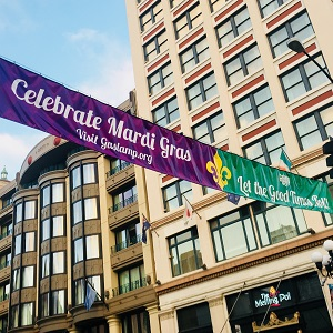Let the Good Times Roll this Mardi Gras in the Gaslamp Quarter!