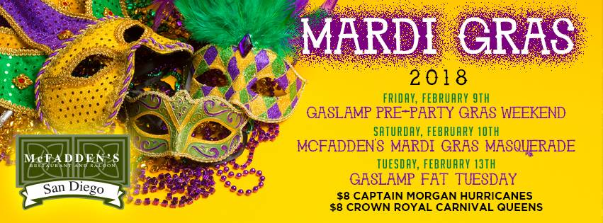 mcfaddens-fat-tuesday-2018 gaslamp san diego