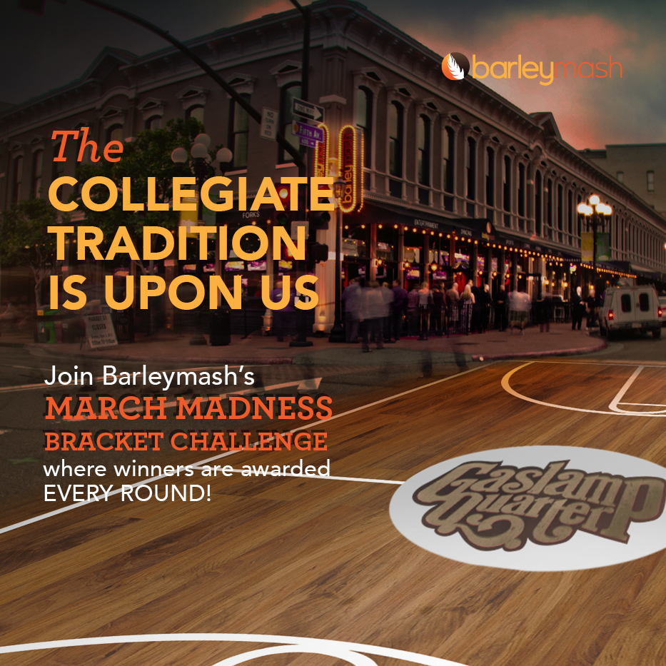 Catch Every College Basketball Game In The Gaslamp Quarter