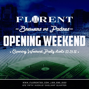 downtown san diego gaslamp quarter padres opening day florent