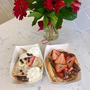 A La Folie, and Sweet Waffle
